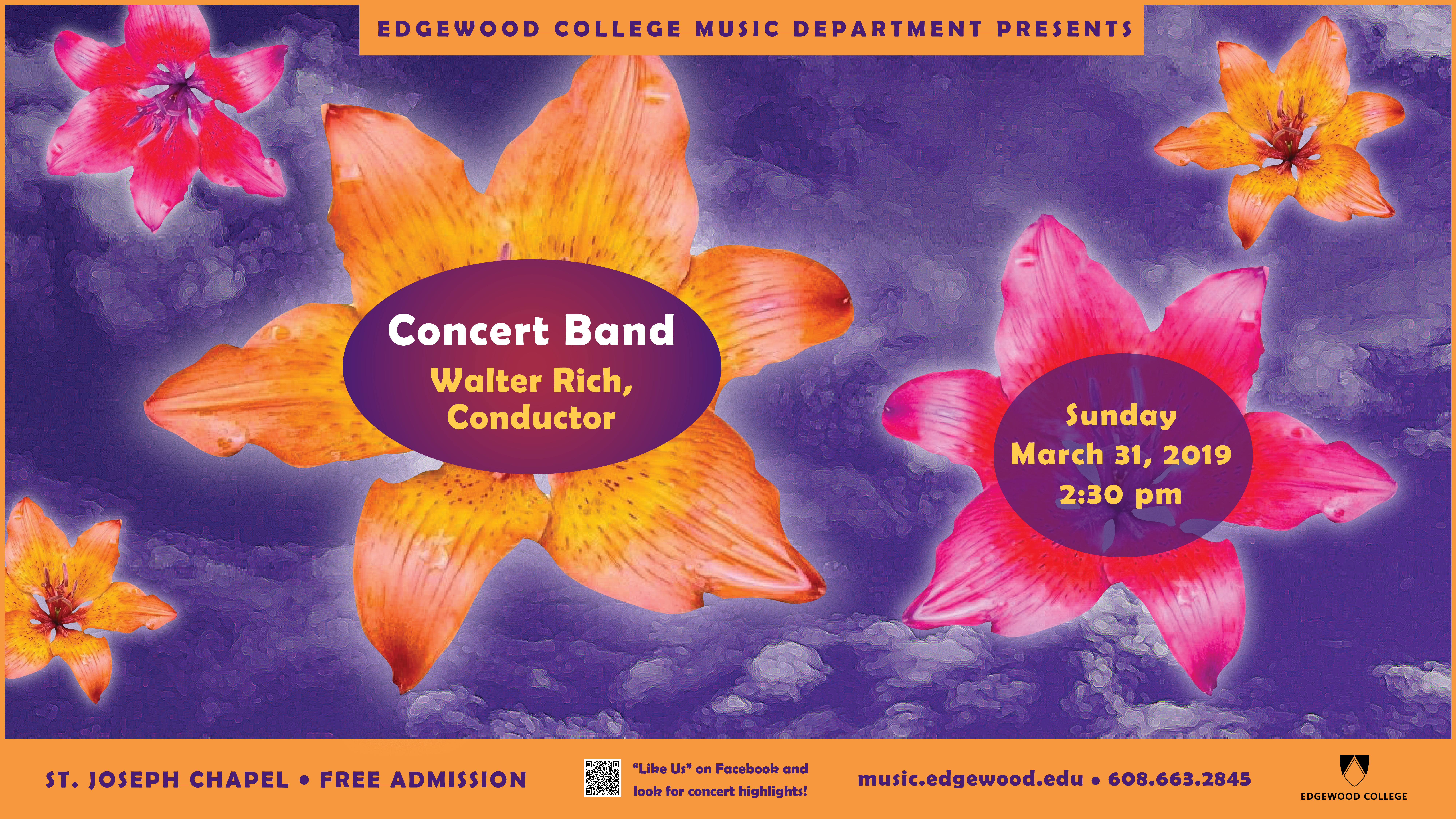 Concert Band Poster